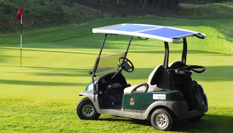 solardrive golf cart solar powered
