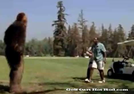 Bigfoot golf car Funny