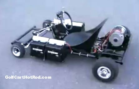 homemade electric go-kart