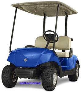 yamaha golf cart weight