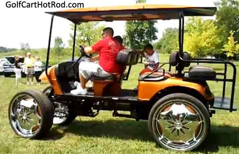 golf cart speed calculator
