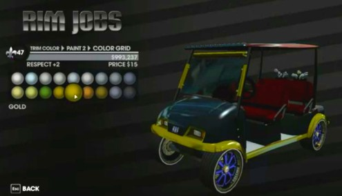 pimp out golf cart