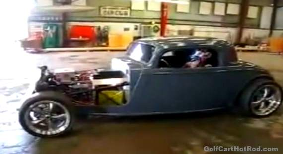 Electric Hot Rod Car