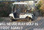 Golf Cart In Detroit