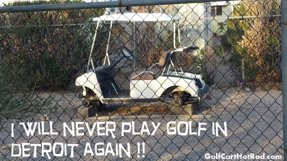 Golf Cart In Detroit