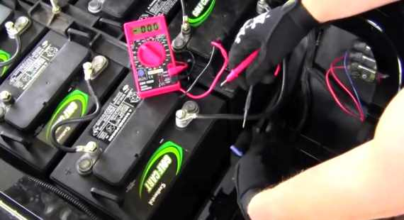 How To Install 36 Or 48 Volt To 12 Volt Voltage Reducer Converter In Golf Cart Video