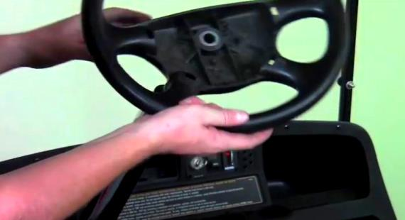Ezgo Steering Column And Gear Box Diagram For 95