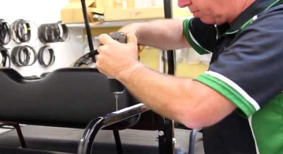 golf cart armrest