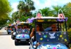 Easter golf cart parade 2014