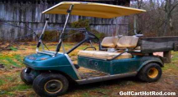 old golf cart roof