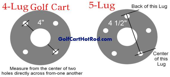 golf cart lug pattern