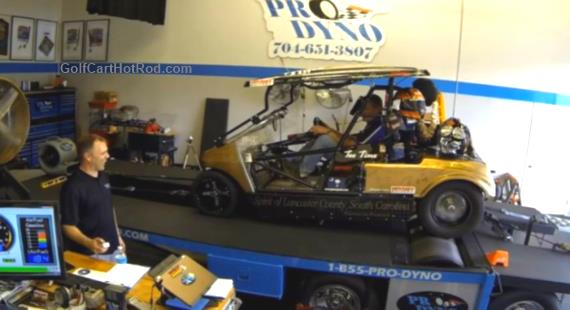 Pro-Dyno Fort Mill golf cart