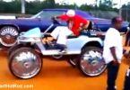 EZGO golf cart huge wheels tires