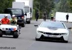 Golf Cart Race BMW i8