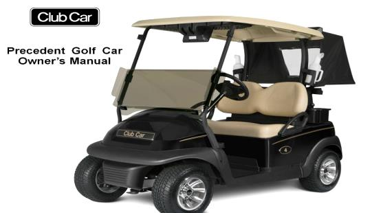 Free Club Car Precedent Owners Manuals
