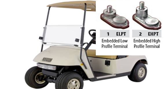 golf cart battery tighten foot pounds