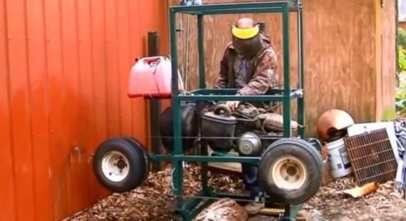 Golf Cart Sawmill