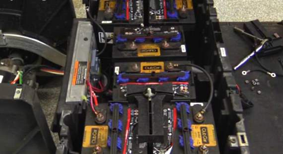 Replace Club Car Precedent Batteries Video