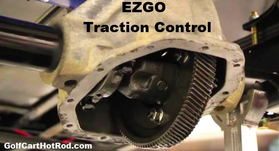 How to install limited slip differential in ezgo golf cart for Ez go golf cart electric motor repair