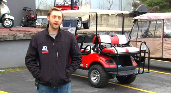 Joyride golf carts