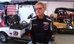 Robby Steen Worlds Fastest Golf Cart Plum Quick