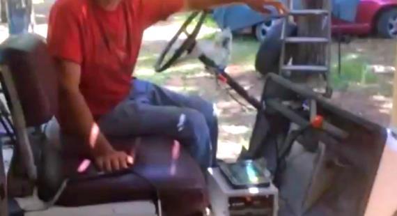 Chevy Volt Golf Cart Battery