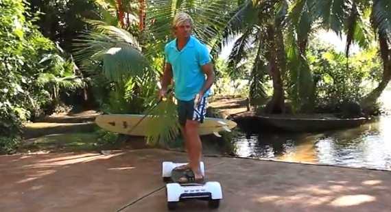 Laird Hamilton Rides The GolfBoard