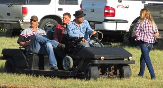 wheelchair accessible Golf Cart