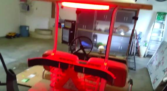 Club car LED lights video