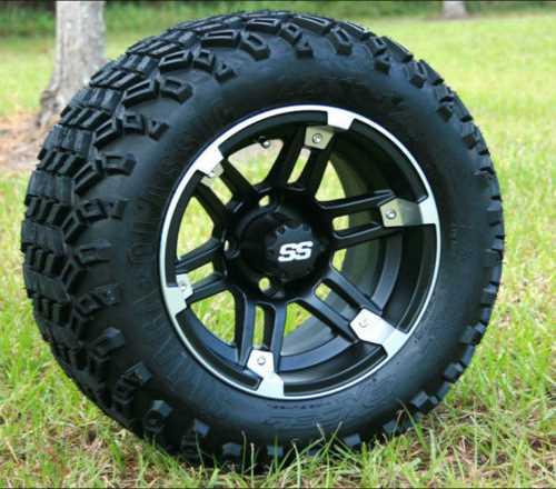 Golf car wheels