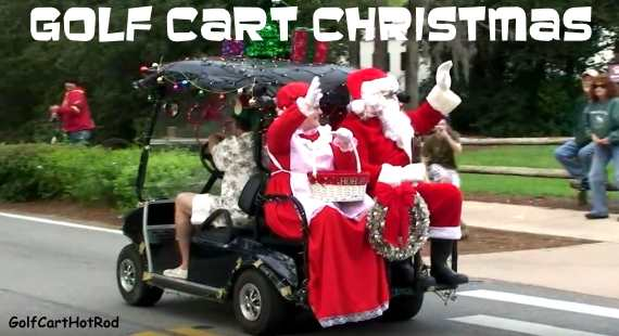 golf cart christmas gifts