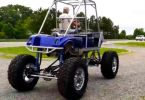 Blown V8 Golf Cart Lifted
