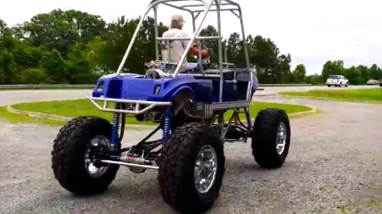 Blown V8 Golf Cart Lifted