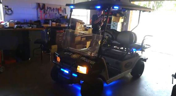 NC Police Highway Patrol Golf Cart