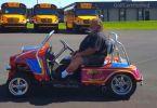Hot Rod Golf Cart