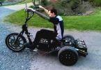 harley davidson golf cart on air bags