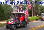 4th of July golf cart parade 2016