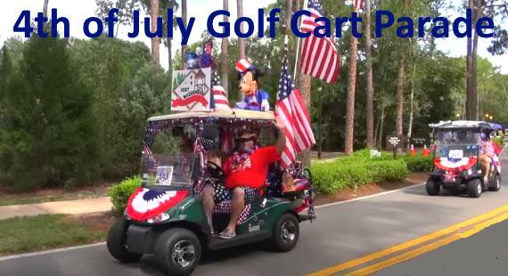 4th of July golf cart parade 2016