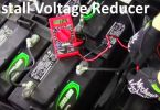 How to install 36 or 48 Volt Voltage Reducer