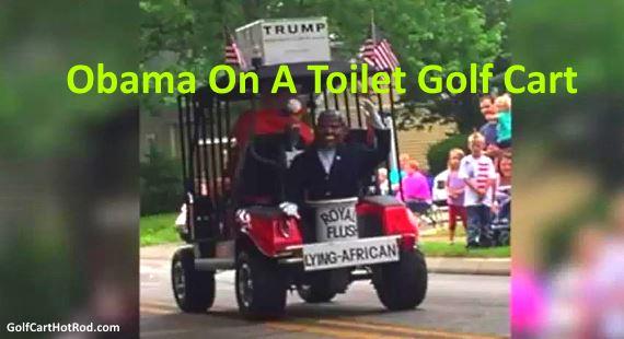 Lying African Obama Golf