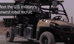 Military Robot Golf Cart
