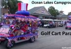 Ocean Lakes Family Campground 2016 July 4th Golf Cart Parade