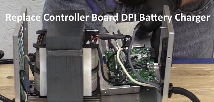 Replace Controller Board DPI Battery Charger Golf Cart