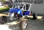 160hp Custom EZGO golf cart