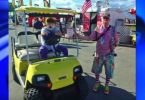 Beeper The Clown Golf Cart