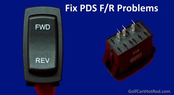 fix ezgo pds forward reverse problems