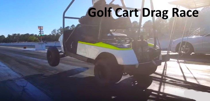 Golf Cart Drag Racing