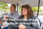 Peachtree City Georgia Mayor Vanessa Fleisch Golf Cart