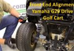 Front End Alignment Yamaha G29 Drive Golf Cart