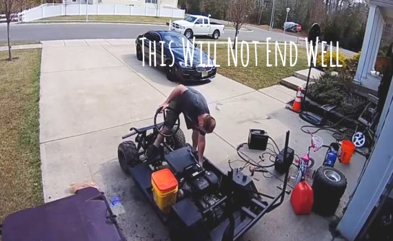 Try Not To Kill Yourself When Upgrading Predator 420 Golf Cart